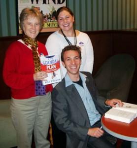 Jill, Bill, and Gina at Boston signing